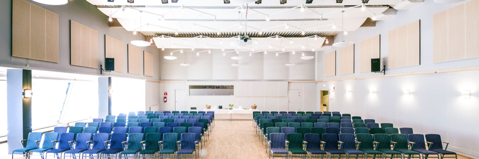 Konferens, Malmö, hörsalen
