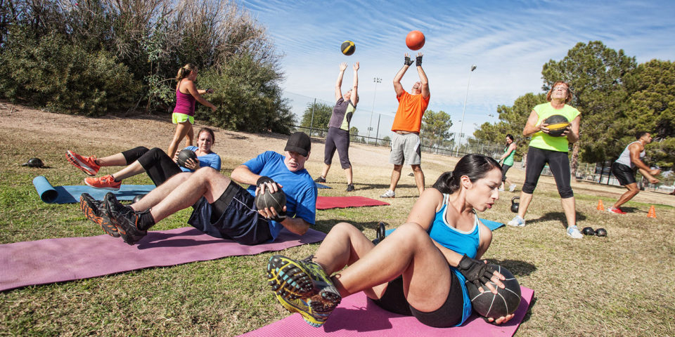 Small Group Personal Training Outdoor